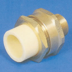 JFE Polybutene Tube, H-Type Fitting (Electrofusion Type) Valve Socket (with Male Screws)