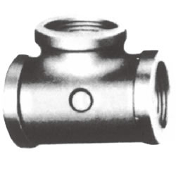 Screw-In PL Fitting, Tee with Collar