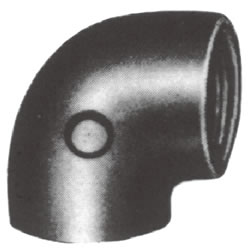 Screw-In Malleable Cast Iron Pipe Fitting, Elbow