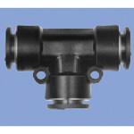 Junron One-Touch Fitting M Series (for General Piping) Reducing Union Tee