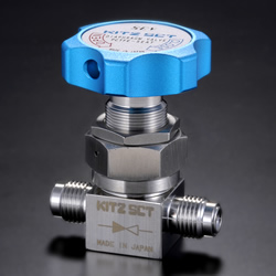 High Purity Gas Valve WD, Diaphragm Valve for Liquid Gas, Manual