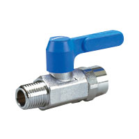 Brass General-Purpose 10K Ball Valve Taper Male Thread × Tapered Female Thread (Lever)