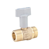 Brass General Purpose 10K Ball Valve Taper Male Screw × Parallel Male Screw