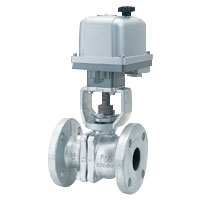 Ball Valve With 10K Electric Actuator, Cast Iron