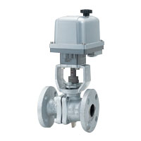 Ductile Iron 10K Ball Valve with Electric Actuator