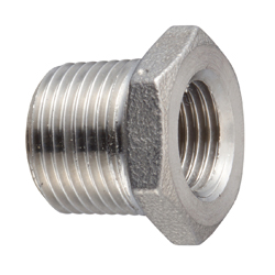 Stainless Steel Screw-in Fitting, Reduced Bushing