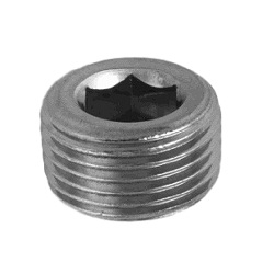 Steel Tapered Screw Plug With Hex Socket (Floating)