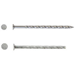 Special iron screw nails