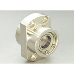 Bearing Holder Set: Spigot Joint Double Type with Retainer Ring Ellipse Shape (Stainless steel) DEIS
