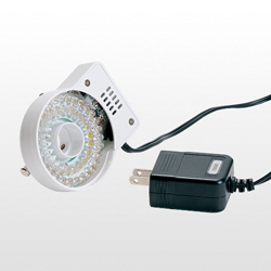 White ring LED lighting device (for fixed magnification objective lens)