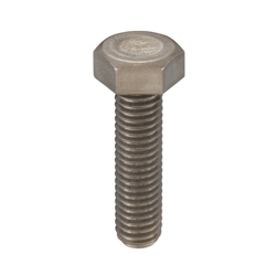 Pure Titanium Class 1 Hex Bolt, Fully Threaded