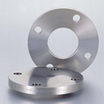 Stainless Steel Pipe Flange Slip-On Welded Type Plate Flange Flat Face JIS5K, SUSF316L