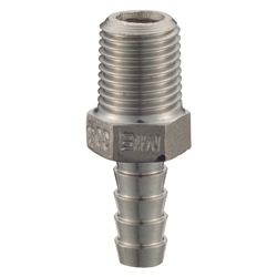 "Stainless Steel Screw-in Type Pipe Fitting, Hex Hose Nipple ""SHN"""