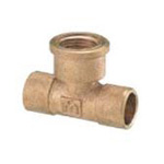 Copper Tube Fitting, Copper Tube Fitting for Hot Water Supply, Copper Tube Water Faucet Tees