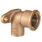 Copper Tube Fitting, Copper Tube Fitting for Hot Water Supply, Water Faucet Elbow with Copper Tube Shoulder Seat