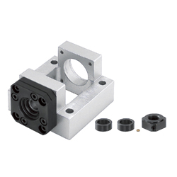 Support Units - Fixed Side, Square <Convenient> - Integrated AC Servo Motor Bracket