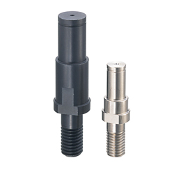 Cantilever Shafts - Piloted Thread with Retaining Ring Groove - Stepped