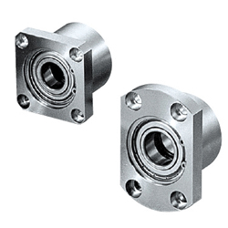 Bearings with Housings - Double Bearings, Retained, L Selectable