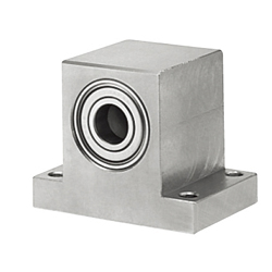 Bearings with Housings - Low Dust Raise Greased, T-Shaped, Double Bearings