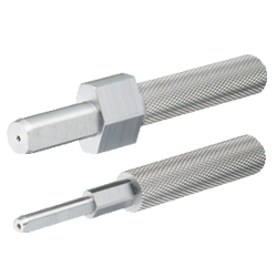 Slot Pins for Inspection Components - Stepped Diamond, Straight - Diamond Fixed
