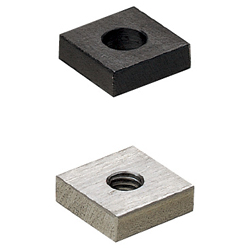 Square Washers&Nuts with One Clearance Hole