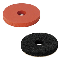 Sponge Washers - Temperature limit for seals is 80°C.