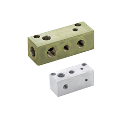 Manifold Blocks - Hydraulic / Pneumatic - Selectable Thread Size