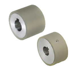 Urethane Kined Rollers - Straight Type with Keyway