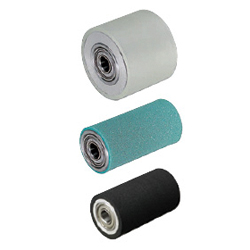 Rollers - With Core Material Press Fit Bearings