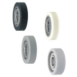 Silicon Rubber / Urethane Molded Bearings - Flat