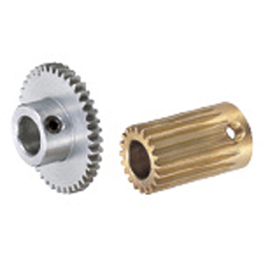 Spur Gears, Pressure Angle 20° , Module 0.5