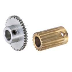 Spur Gears, Pressure Angle 20° , Module 0.8