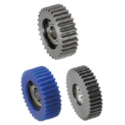 Spur Gears - Bearing Built-In, Pressure Angle 20°