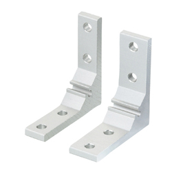 For 5 Series (Slot Width 6mm) Aluminum Frames - Thick Brackets - For 1 Slot