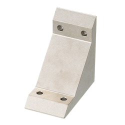 Tabbed Brackets - For 2 Slots - For 6 Series (Slot Width 8mm) Aluminum Frames