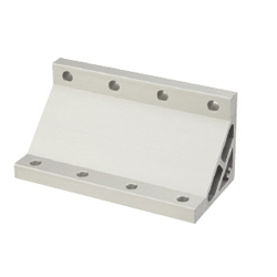 Extruded Brackets - For 4 Slots / Thin Brackets - For 8-45 Series (Slot Width 10mm) Aluminum Frames