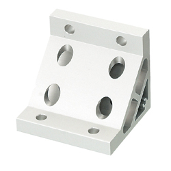 Tabbed Brackets / Extruded Brackets - For 2 or More Slots - For 8-45 Series (Slot Width 10mm) Aluminum Frames