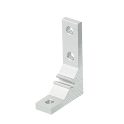 Extruded Brackets - For 1 Slot - For 5 Series (Slot Width 6mm) Aluminum Frames - Eccentric Brackets