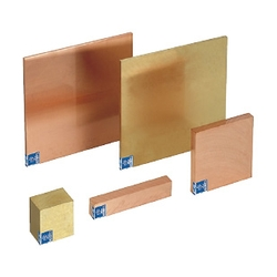 Configurable Plates - Copper Brass Plates / Tough Pitch Copper / Oxygen Free Copper / Chrome Copper / Brass Plates