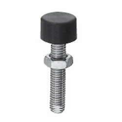 Shock Absorption Stoppers - Bolts with Low Elastic Rubber Head