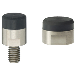 Urethane Coated Magnets - Threaded / Tapped