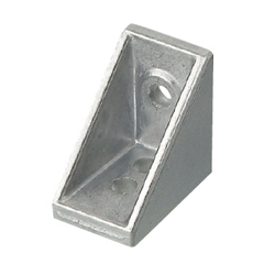 Brackets with Single Side Tab - For 1 Slot - For 6 Series (Slot Width 8mm) Aluminum Extrusions