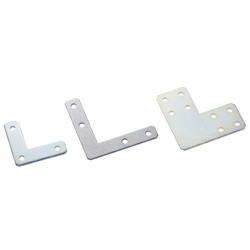 Sheet Metal Bracket For 5 Series (Slot Width 6mm) Aluminum Extrusions - L-Shaped