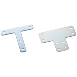 Sheet Metal Bracket For 5 Series (Slot Width 6mm) Aluminum Extrusions - T-Shaped