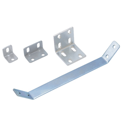 Sheet Metal Bracket For 5 Series (Slot Width 6mm) Aluminum Extrusions - Bent-Shaped