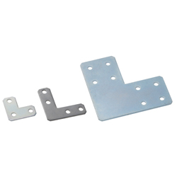 Sheet Metal Bracket For 8 Series (Slot Width 10mm) Aluminum Extrusions - L-Shaped