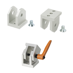 Free Angle Brackets - For 8-45 Series (Slot Width 10mm) Aluminum Frames