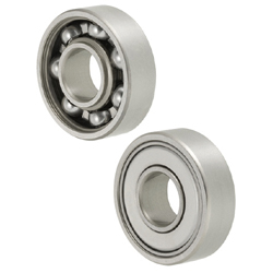 Deep Groove Ball Bearing/Single Shielded