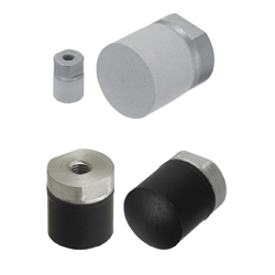Silicon Rubber Pushers / Fluororubber Pushers - Tapped Type