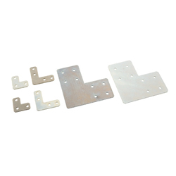Sheet Metal Bracket For 8-45 Series (Slot Width 10mm) Aluminum Extrusions - L-Shaped